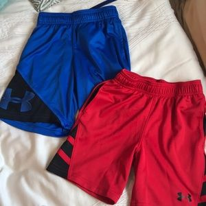2 pair of Boys Under Armour shorts